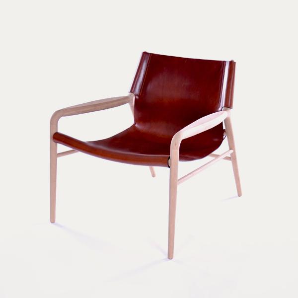 Rama chair, Danish design, Scandinavian design, Scandinavisch design, dutch design, project armchair Natural oak, black leather