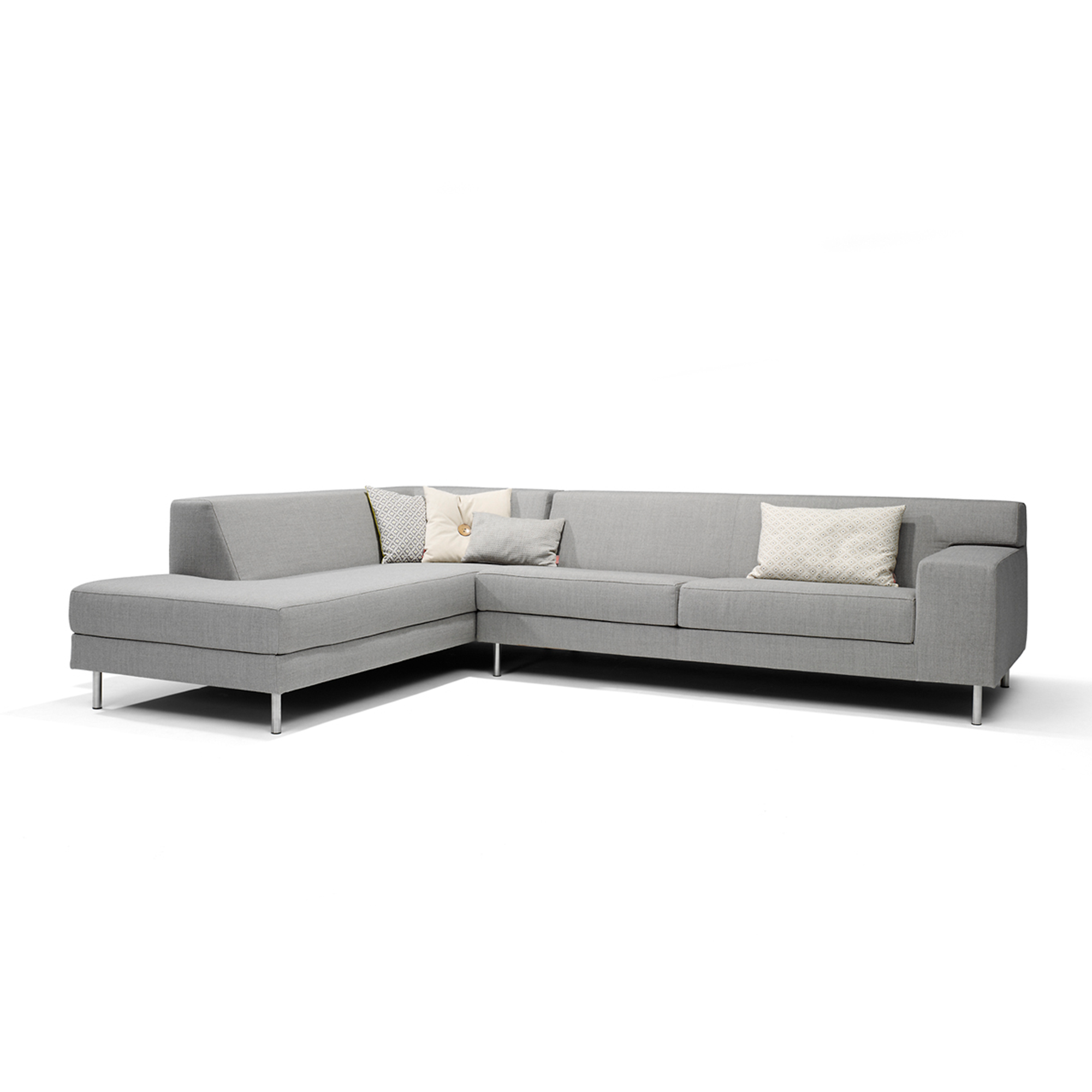 Danca design furniture, design bank, bank met chaise longue