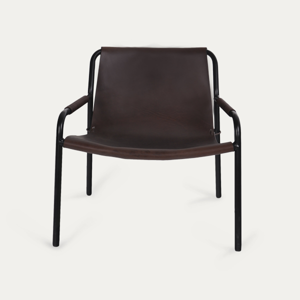 Trifolium, Butterfly chair, OX Denmarq, Trifolium, Danish Design, September chair, Scandinavisch design, bruin leder, Vintage look