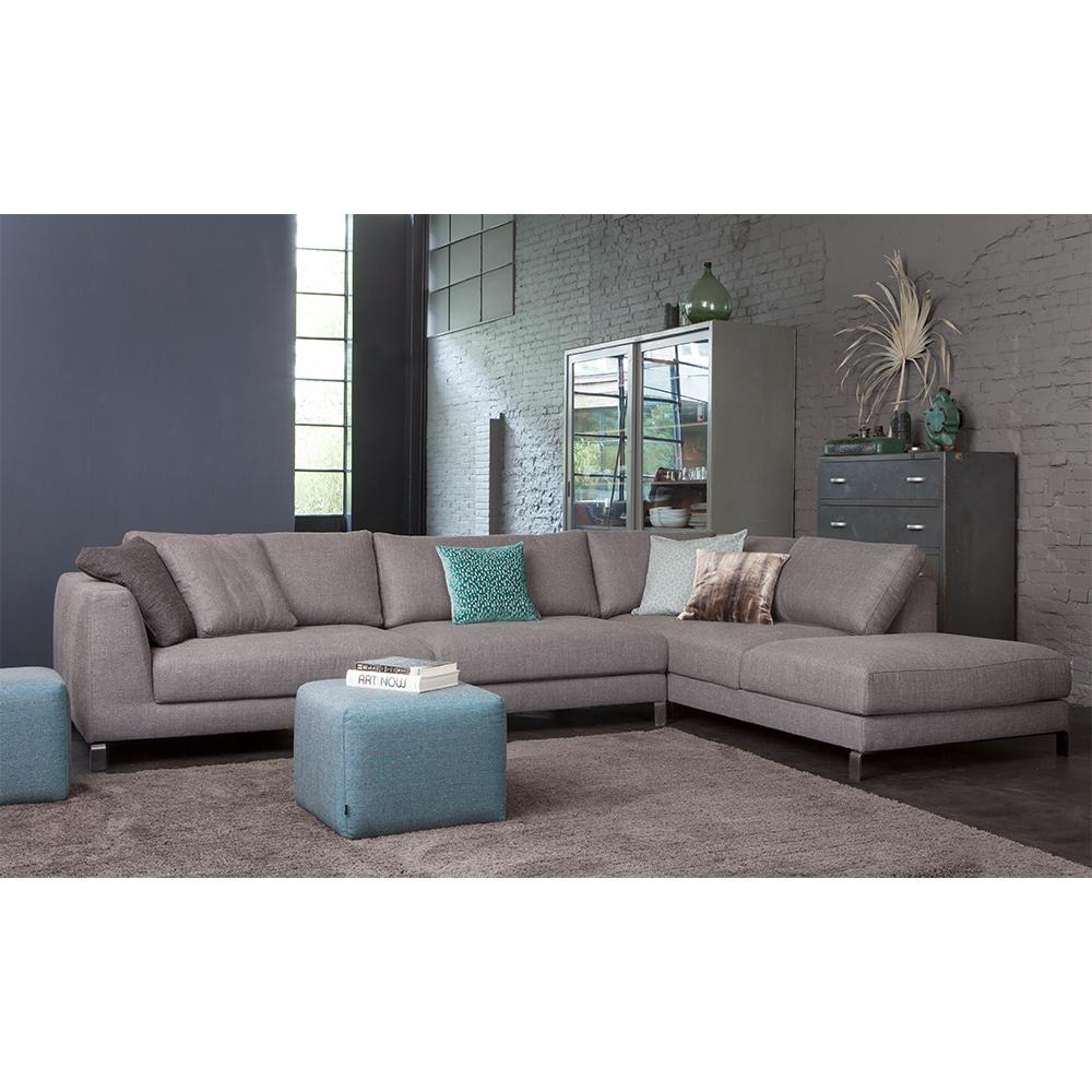 Danca design bank, design bank, ontwerp, model Alexis, comfortabele bank met chaise longue, Italiaanse design bank